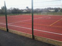 MUGA Pitch anti-slip