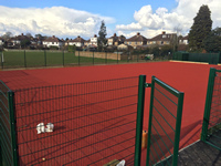 MUGA Pitch Polymeric